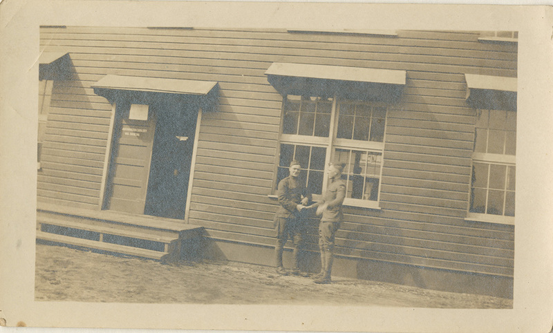 Photograph, Two Unidentified Servicepersons, undated<br />