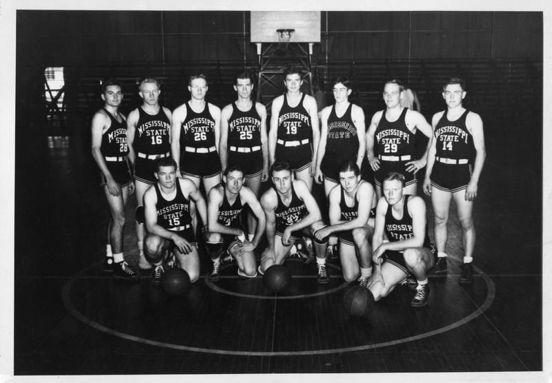Sonny Montgomery on MSU men's basketball team