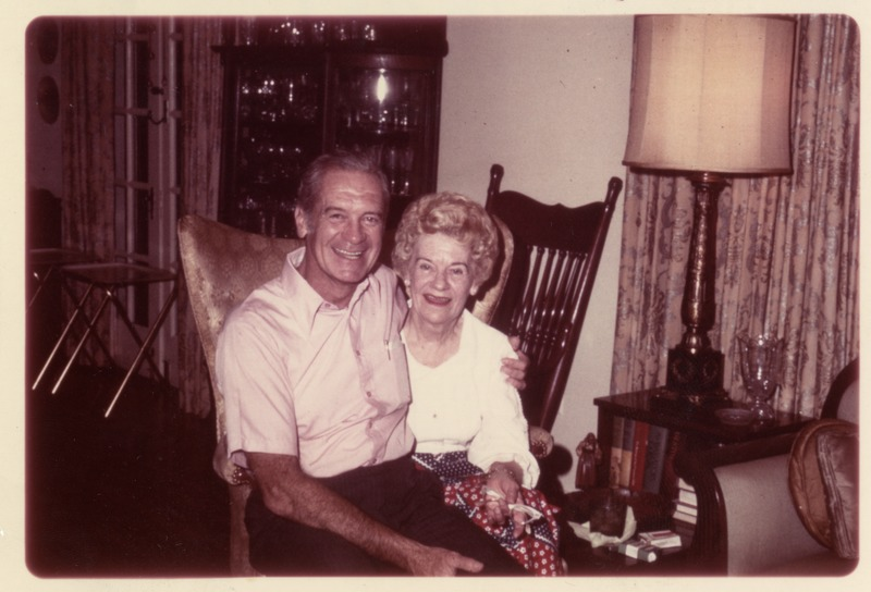 Sonny Montgomery with his mother