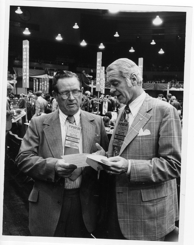 Sonny Montgomery at the 1974 Democratic Conference