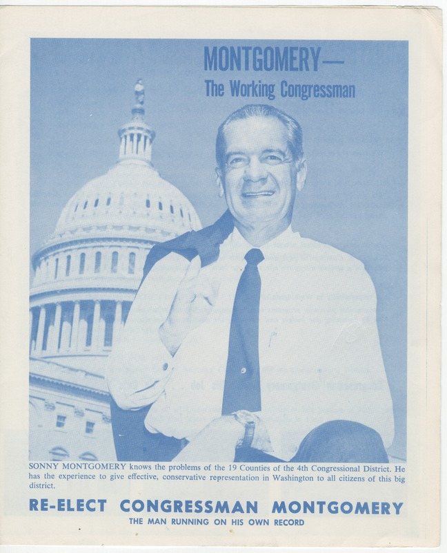 Sonny Montgomery campaign brochure