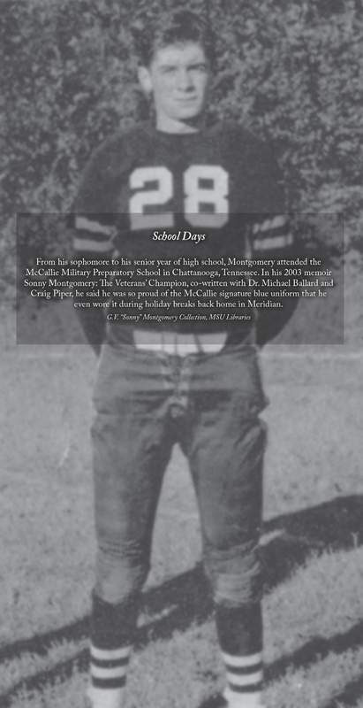 Sonny Montgomery - McCallie football