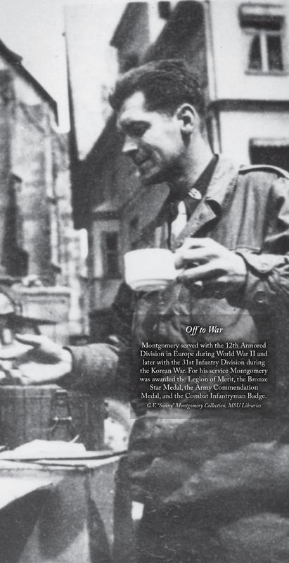 Sonny Montgomery - WWII
