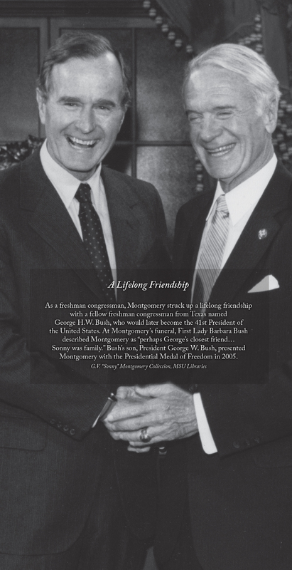 Sonny Montgomery and George H.W. Bush