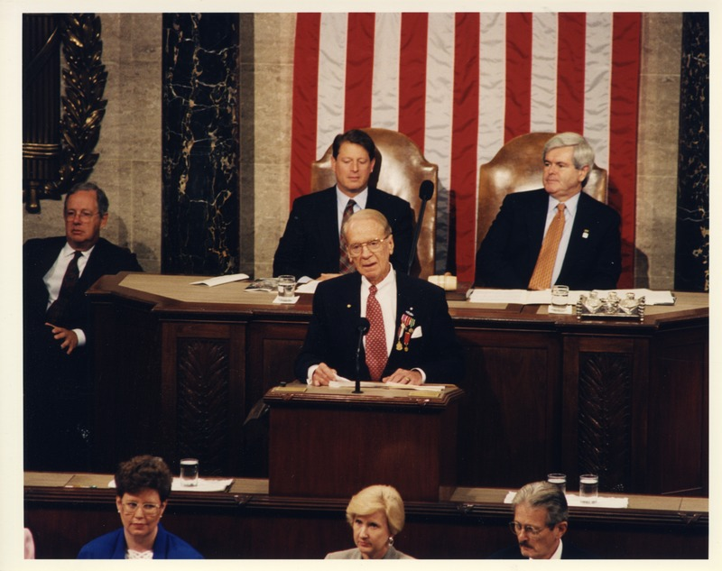 Sonny Montgomery - Joint Session of Congress