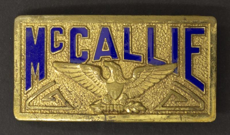 Sonny Montgomery McCallie belt clip