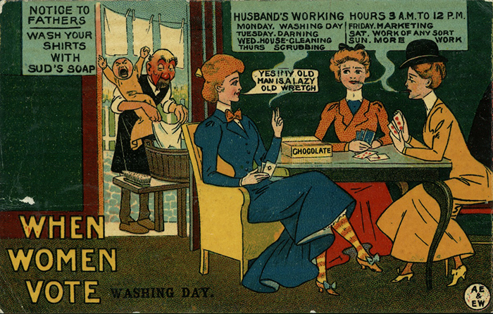 Anti-Suffrage Voting Rights Propaganda