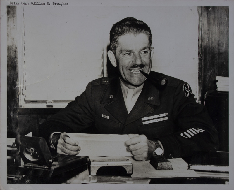 Photograph, Bigadier General William E. Brougher, undated