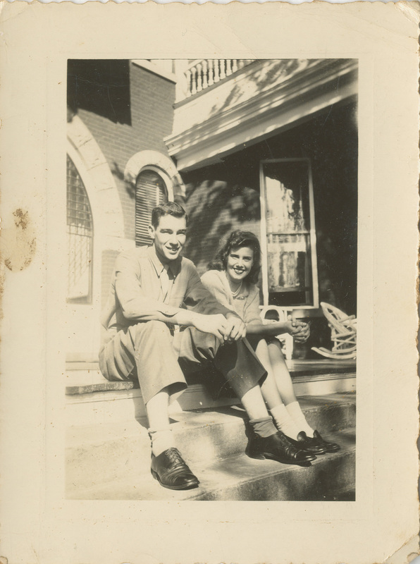 Photograph, Neill Bogan, Jr., and Ann Hefti, undated<br />