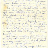 Letter, F. Warren Oakley to his Parents, December 1, 1944<br /><br />