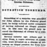 <em>Courier-Journal</em> clipping