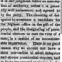 <em>Vicksburg Daily Times</em> clipping