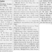 <em>Vicksburg Evening Post</em> clipping