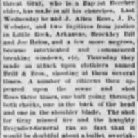 <em>Vicksburg Herald</em>clipping