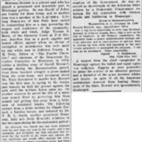 <em>New York Tribune</em> clipping