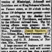 <em>Vicksburg Evening Post</em> clipping