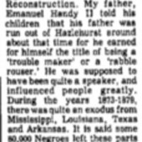 <em>Atchison Daily Globe</em> clipping