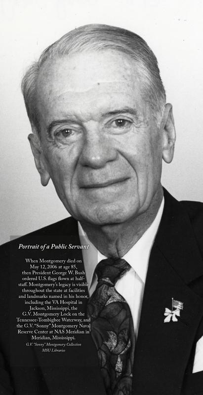 "<a href=""/items/browse?advanced%5B0%5D%5Belement_id%5D=50&advanced%5B0%5D%5Btype%5D=is+exactly&advanced%5B0%5D%5Bterms%5D=Sonny+Montgomery+-+Portrait+of+a+Public+Servant"">Sonny Montgomery - Portrait of a Public Servant</a>"