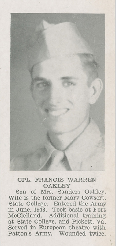 "<a href=""/items/browse?advanced%5B0%5D%5Belement_id%5D=50&advanced%5B0%5D%5Btype%5D=is+exactly&advanced%5B0%5D%5Bterms%5D=Photograph%2C+Francis+Warren+Oakley%2C+1946"">Photograph, Francis Warren Oakley, 1946</a>"
