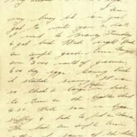 Letter, Porter Swann to Louise Cavett Swann, February 2, 1919